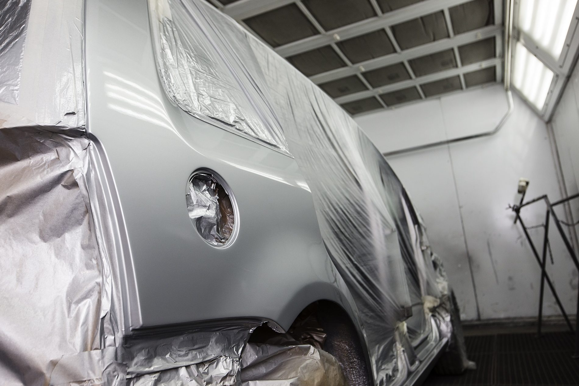 Automobilio touran dazymas