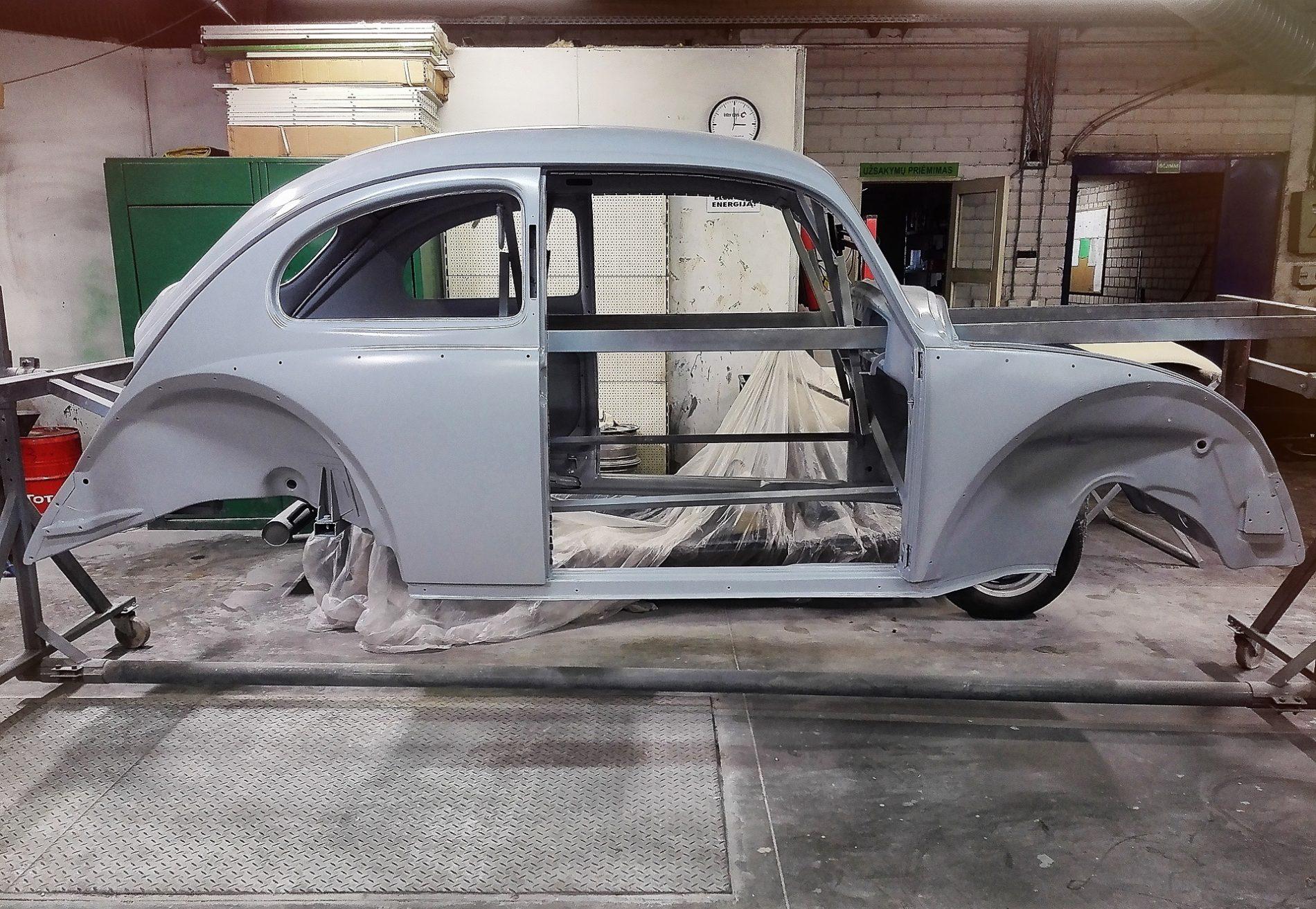 Automobilio VW Kaeffer kebulo remontas